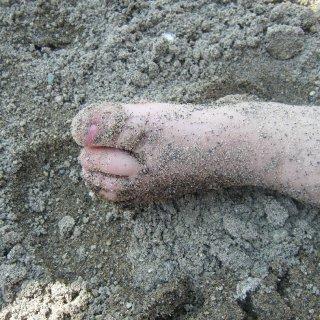 sandy toesies
