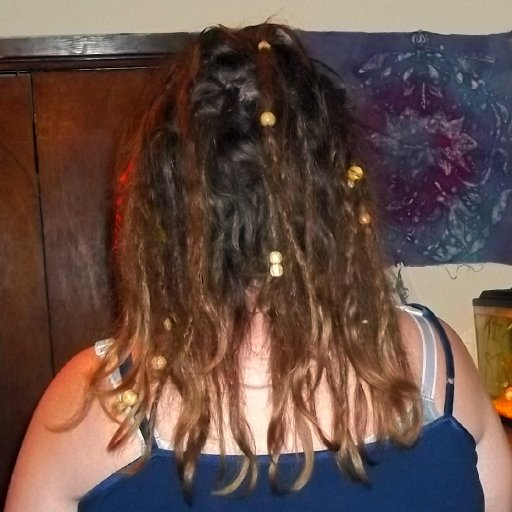 Back View Dreadies