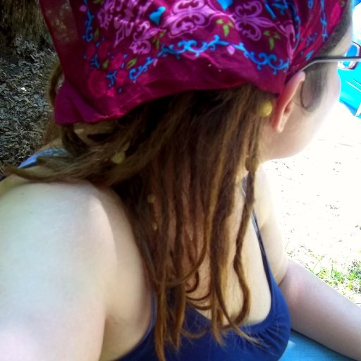 Hangin' by tha pool dreadies
