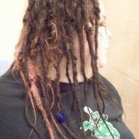 dreads right side down 5 months