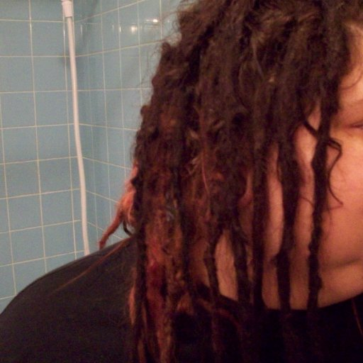 dreads 5 months right side