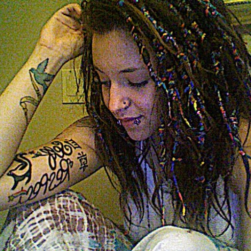 my dreads look damnnn goodd :)