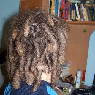 3rd time dreadlocks (now gone).