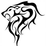 tribal-lion-tattoo