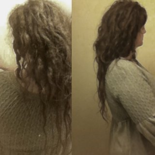 Locking fine & wavy hair