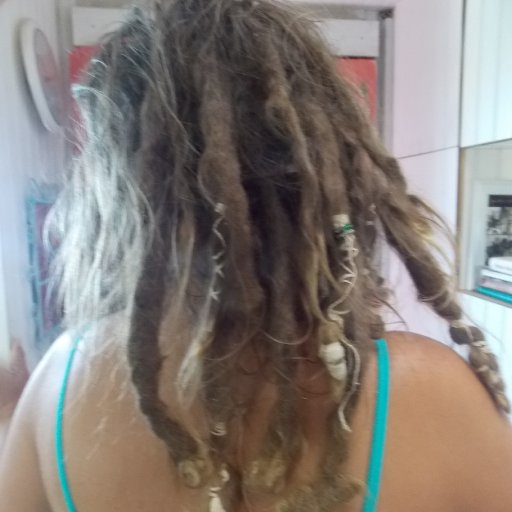 My Dreads 'Then' at 1 1/2 years