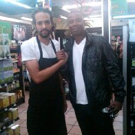 At Simply Wholesome with Doug E Fresh