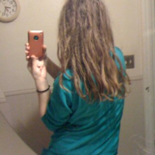 Day 5, last several inches of tips loose