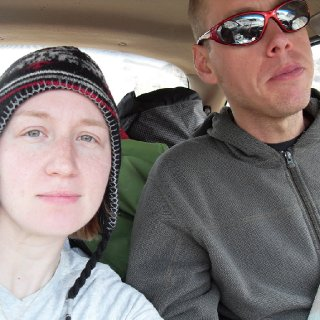 Me and fiance leaving our 3 day hot spring backpacking trip... our most favorite one!