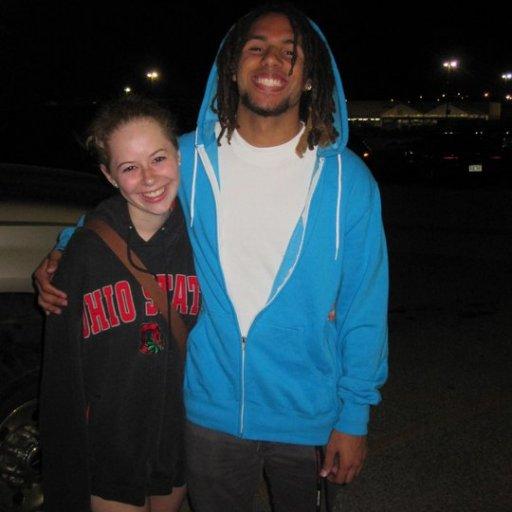 My friend lizzie and I