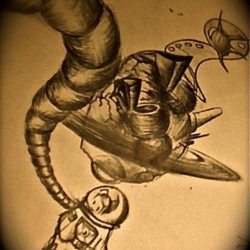 Bic pen doodle 1