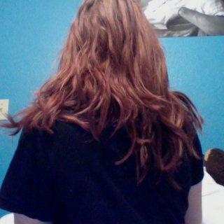 The back of my hair.