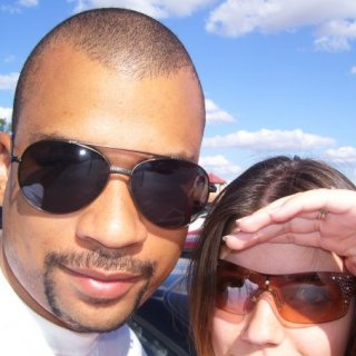 My husband and I 2 summers ago at the Prime Outlets in San Marcos, TX... love those clear skies! And the heat. :)
