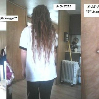 9 month shrinkage update!! No more long hair LOL!