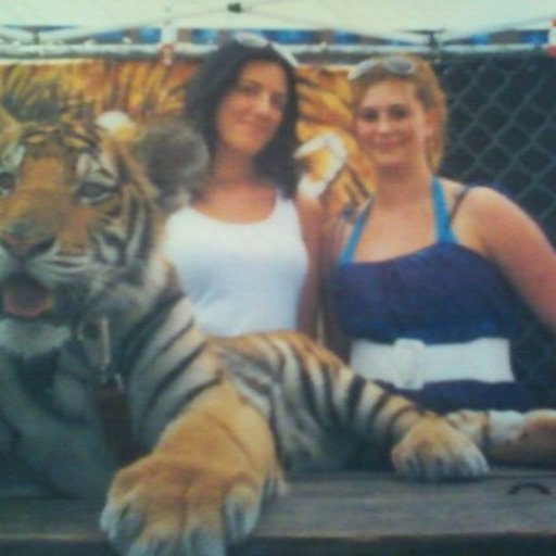 being up close to a baby tiger was awesome!