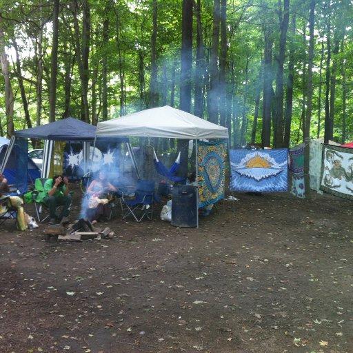 summerdance campsite!
