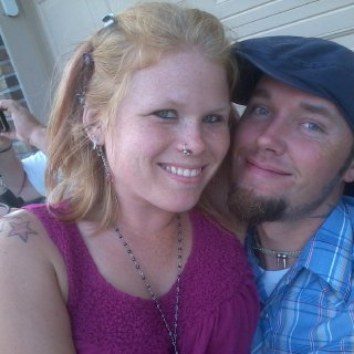 My man and me on the 3rd of July..before I started :)