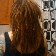 back of my dread 2 weeks