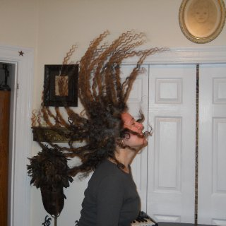 flying 73 day old dreads