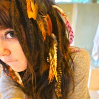 feather dreads