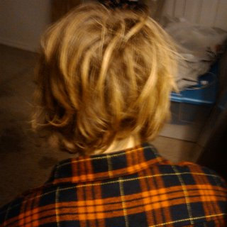 from short hair