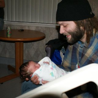 me and my brothers new born baby ally