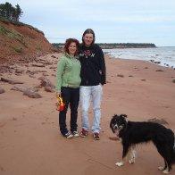 At sallys beach on PEI