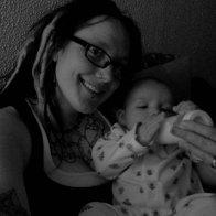 me and baby Matt :)