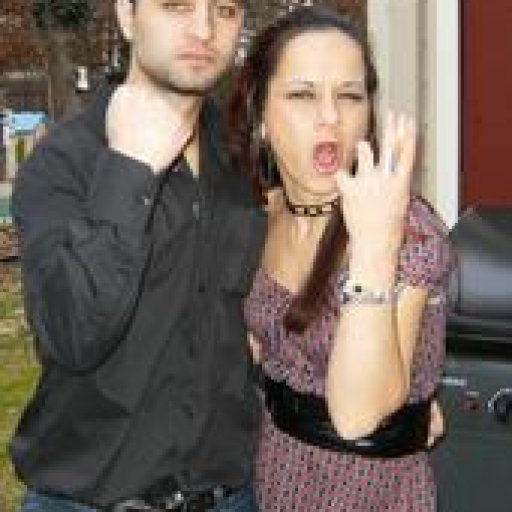 ME AND SISTER 2 YEARS AGO AFTER BEING UP FOR 3-6 DAYS AT CHRISTMAS PARTY