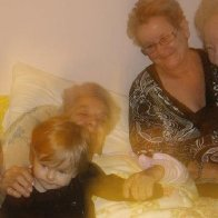 mum, daughter aunty and late grandmother.