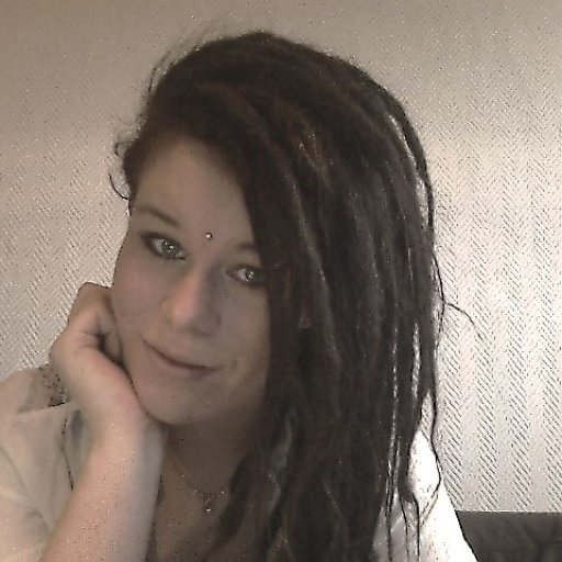 new dreads half head :P haha
