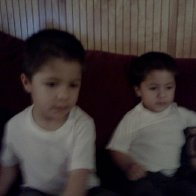 my handsome little punk identical 2 and a half year old twins