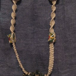 Newest Creation-My Dad's Egyptian Falcon Hemp Necklace