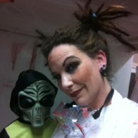 Halloween fun with my dreads :)