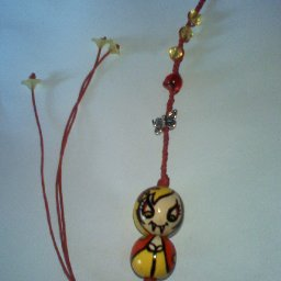 dread bead doll charm