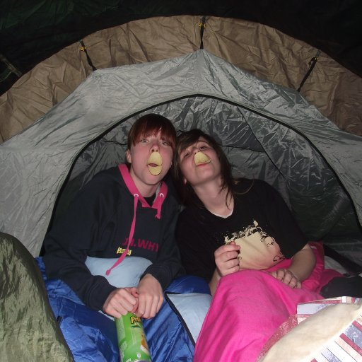 camping, scary!