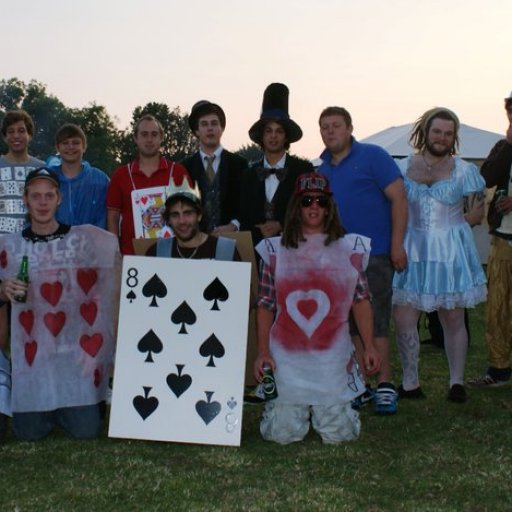 alice in wonder land at the gathering