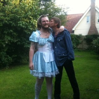 setting off to alice in wonder land at the gathering with matty