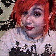 orange hair.