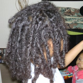 My sons locs