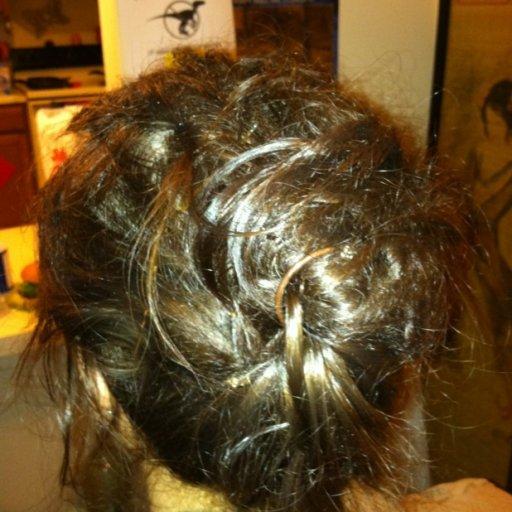 Twist Bun Hair Style