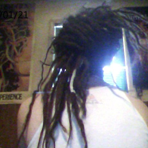 my dreadlocks tied up