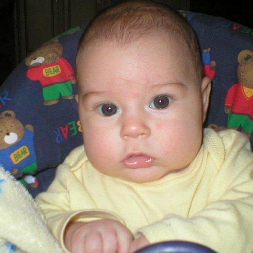 My likkle cub, Ezekias!