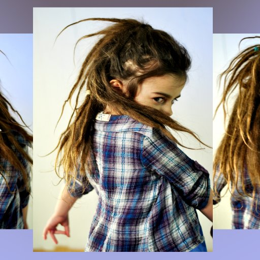 4 year old gilly 1 month old natural dreads