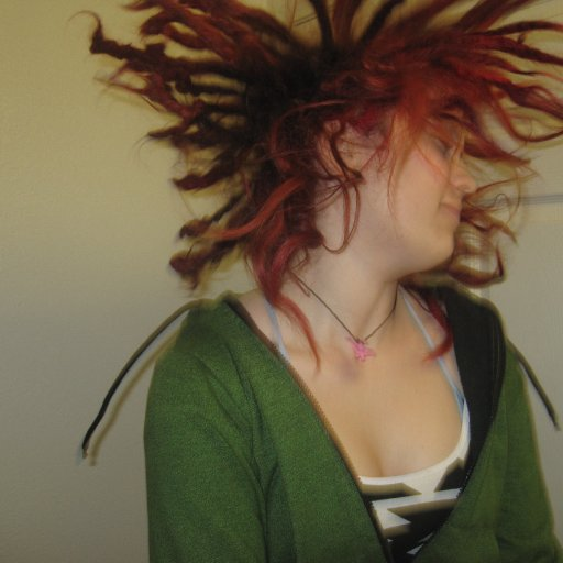 Shaking the dreads!