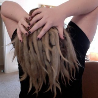 I like this picture because they look big..no loose hairs and just awesome still neglect!