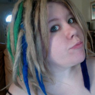 Add a little color- without dying your hair! Or hurting it.. :)