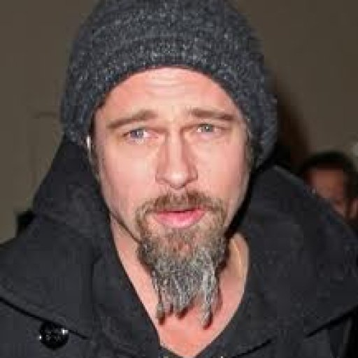 Brad Pitt - notice the dread beard