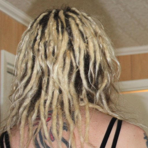 back dreads
