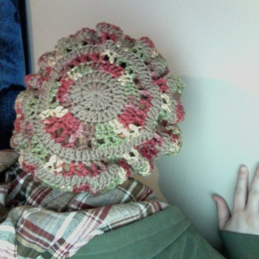 Slouch Hat/Tam my hubby made